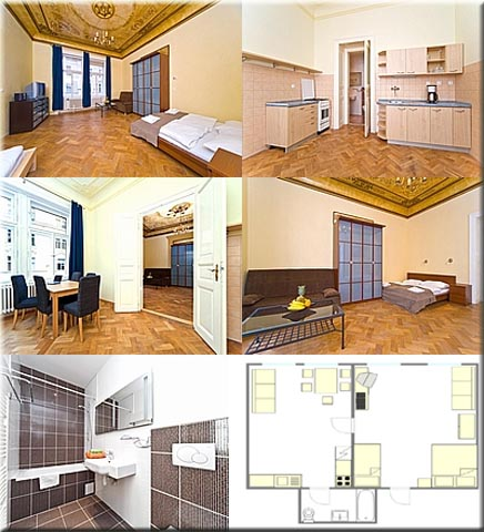 Apartment Dušní I