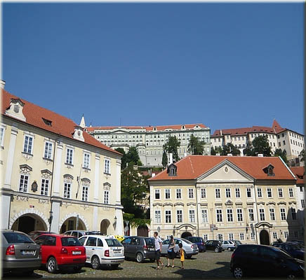 View to the Prague Castle